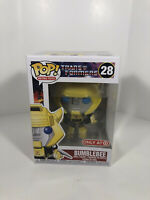 Funko POP! Retro Toys Transformers BUMBLEBEE #28 Target Exclusive Figure MINT