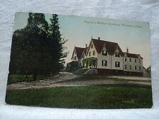 WORCESTER MA Massachusetts Highland Military Academy 1910 Postcard