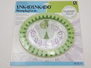 Inkadinkado Stamping Gear Oval Stamping Wheel