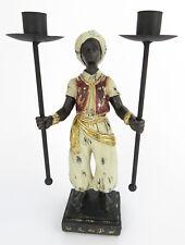 Kerzenleuchter Kerzenständer Armleuchter Kolonialstil MOHR Sarotti antik