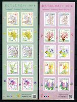 Japan 2017 MNH Omotenashi Hospitality Flowers Series 7 2x 10v S/A M/S Stamps