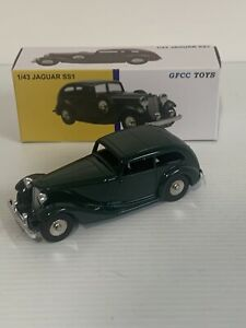 GFCC TOYS JAGUAR SS1 1/43 SCALE MADE IN CHINA.