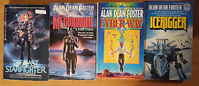 Alan Dean Foster - Lot of 10 - Aliens, Interlopers, Black Hole, Nor Crystal...