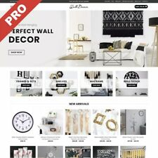 Fully Stocked HOME DECOR Dropshipping Website Business | Make £2,500+ Per Month
