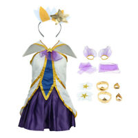 Game LOL Janna Costume Cosplay Anime Dress Party Costume Deluxe Outfits