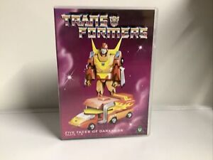 Transformers - Five Faces Of Darkness - Parts 1-5 (DVD, 2002) Rated U