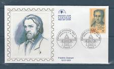enveloppe   1er jour  Frédéric Ozanam  75 Paris   1999