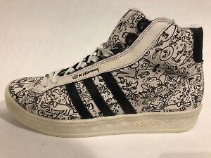 Adidas Originals ADICOLOR HI BK 2 JEREMY SCOTT & KEITH HARING size 9,5  562891