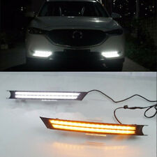 For Mazda CX-5 CX5 2017 2018 Fog light Daytime Running Light DRL LED Day Light