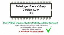 Behringer BASS V-AMP - Version 1.0.9 Upgrade Firmware Upgrade Eprom OS for VAMP
