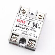 Solid State Relay  SSR-40VA 40A  Input 24-380VAC PID Temperature Controller