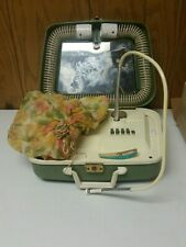 Vintage Grant Maid Deluxe Hair Dryer with nail groomer.