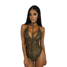 2017 Lingerie Lace Dress Babydoll Womens Underwear Nightwear Sleepwear Bodysuit