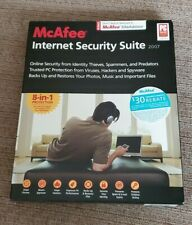 NEW SEALED McAfee Internet Security Suite 2007 1 PC 1 year
