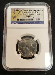 2019-W War in the Pacific National Park Quarter NGC MS 63