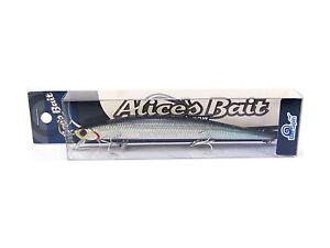 "NEW LONG JERK ""ALICE'S BAIT"" MINNOW 140 SLIM 22gr SINKING COLOR: KATAKUCHI"