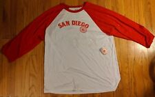 Ballast Point Men's 2Xl 3/4 sleeve baseball tee