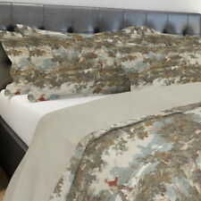 Carolina Linens Shams in Avondale Vintage Sportsman Toile - Standard King Euro