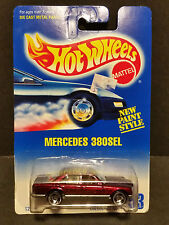 1991 Hot Wheels #253 : Mercedes 380SEL  - 12346