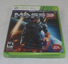 Mass Effect 3 (Microsoft Xbox 360, 2012) Brand New Factory Sealed