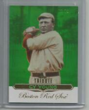2011 Topps Tribute #2 Cy Young Emerald Green Parallel #ed 72/75 (Box DP)