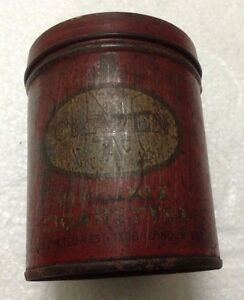 Rare Vintage CRAVEN A VIRGINIA CIGARETTES Cigarette Storage Tin Can