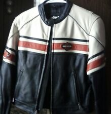 Harley Davidson Leather riding coat