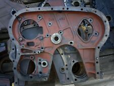 MARSHALL OR LEYLAND TRACTOR ENGINE INNER TIMING COVER.