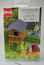 Busch 1486 Bausatz Spielhäuser H0 Scale 1 87 NEU OVP