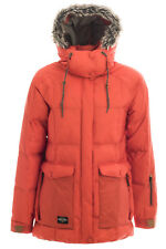 HOLDEN Carter WATERPROOF Faux DOWN Insulated SNOWBOARD Ski JACKET Coat WOMENS sz