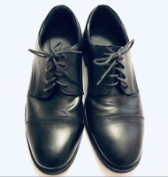 Dexter Comfort Black Leather Cap Toe Oxford Dress Mens Shoes Size 11 M