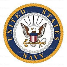 US Navy Logo Birthday Edible Icing Image for 8 inch cake