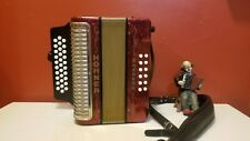 Used Hohner corona G/C/F lll made in Germany