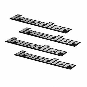 """Irmscher Center Cap Badge for 15"""" Irmscher Wheels (x4)"""