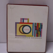 Kodak Photographic Notebook Kodalith Pan Negative Assorted Film Data Sheets BK2A