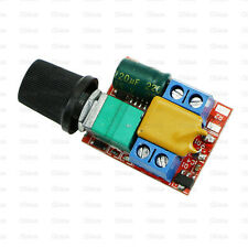 Mini DC 5A Motor PWM Speed Control DC 3-35V High Speed Control Switch LED Dimmer