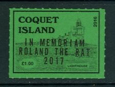 GB locals: Coquet Island (Northumberland) 2017 1v In Memoriam Roland the Rat MNH