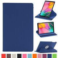 For Samsung Galaxy Tab A 10.1 &8.0 Rotating Leather Stand Case Folio Smart Cover