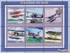 Mosambik 2572-2577 Velletje postfris MNH 2002 Wereld van Marine
