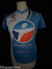 Maillot cylcisme BOUYGUES TELECOM  Taille XS L' INVESPORT