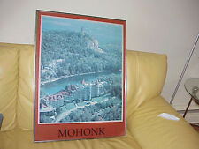VTG Framed Poster Print of MOHONK NY - Local Pick up only!