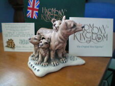 Harmony Kingdom Father Knows Best Tasmanian Tigers Uk Made Box Figurine Nib