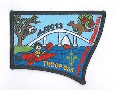 AJ2013 - AUSTRALIA SCOUT NATIONAL JAMBOREE - TROOP O35 SCOUTS BADGE