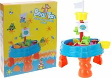 Sand and Water Table Garden Sandpit Toy Watering Can Figures 10 Piece Play Set