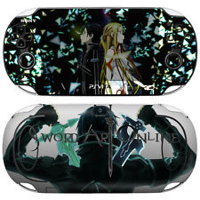 Skin Decal Sticker For PS Vita Original PCH-1000 Series Consoles SAO #03 + Gift