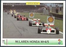 "PMC-AYRTON SENNA ""MAGIC SENNA"" F1- #087-McLAREN HONDA Mp4/5-GREAT  BRITAIN"