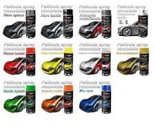 VERNICE PELLICOLA SPRAY RIMOVIBILE 400ml VARI COLORI Tuning D-GEAR AUTO MOTO