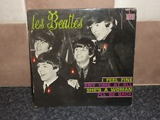 THE BEATLES 'I FEEL FINE' FRENCH EP ODEON SOE3760 VG++