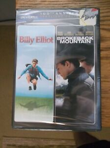 Billy Elliot / Brokeback Mountain 2 Movie Double Feature Sealed New 2012 Wid DVD