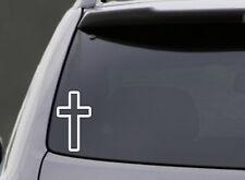 CROSS VINYL DECAL CAR WINDOW LAPTOP BUMPER STICKER GOD CHURCH RELIGIOUS JESUS